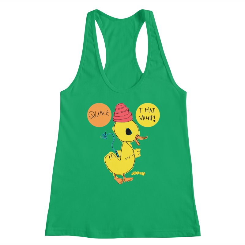 Quack That Whip! Women's Tank by Mitch O'Connell