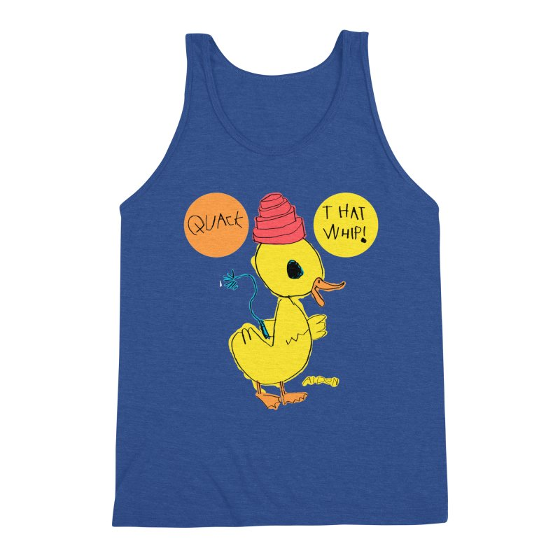 Quack That Whip! Men's Tank by Mitch O'Connell