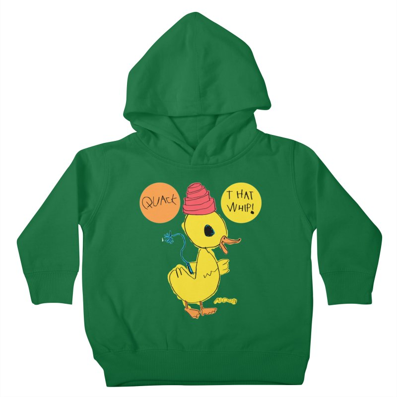 Quack That Whip! Kids Toddler Pullover Hoody by Mitch O'Connell