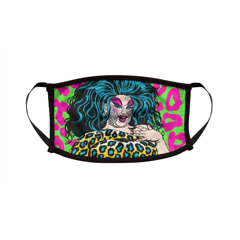 Divine Facemask! Accessories Face Mask by Mitch O'Connell