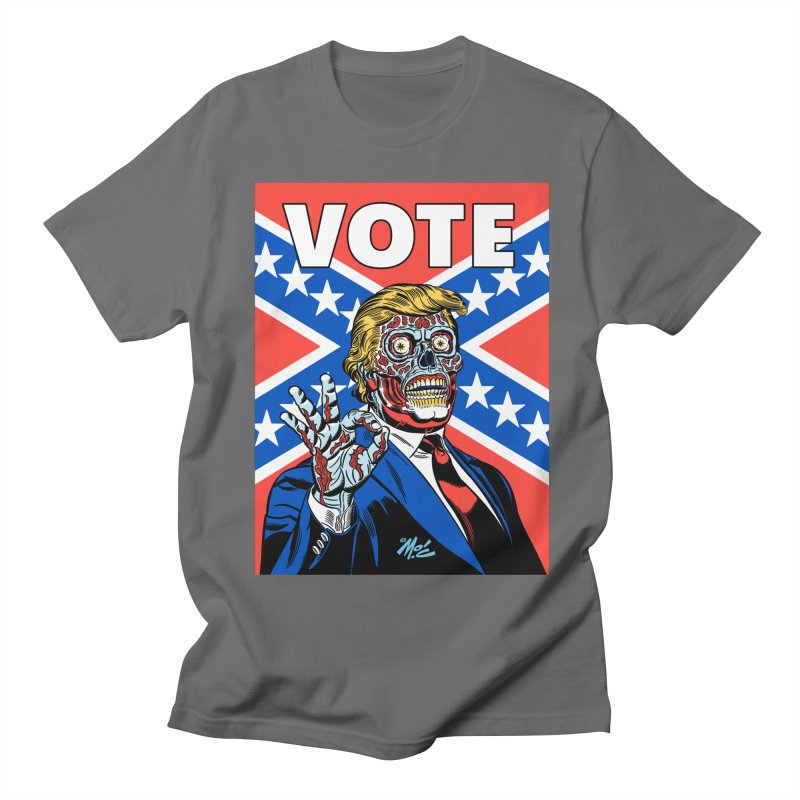 Trump True Colors! Men's T-Shirt by Mitch O'Connell