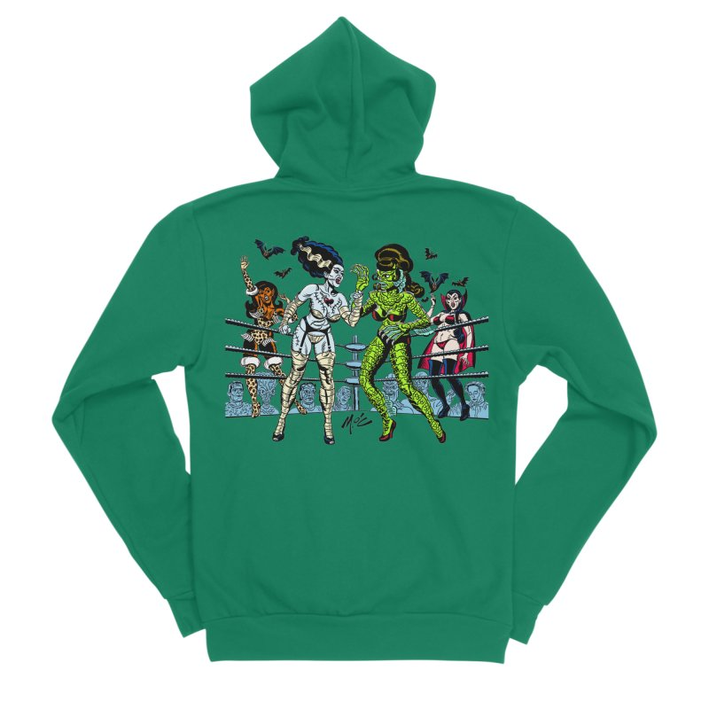 Halloween 2020! Men's Zip-Up Hoody by Mitch O'Connell