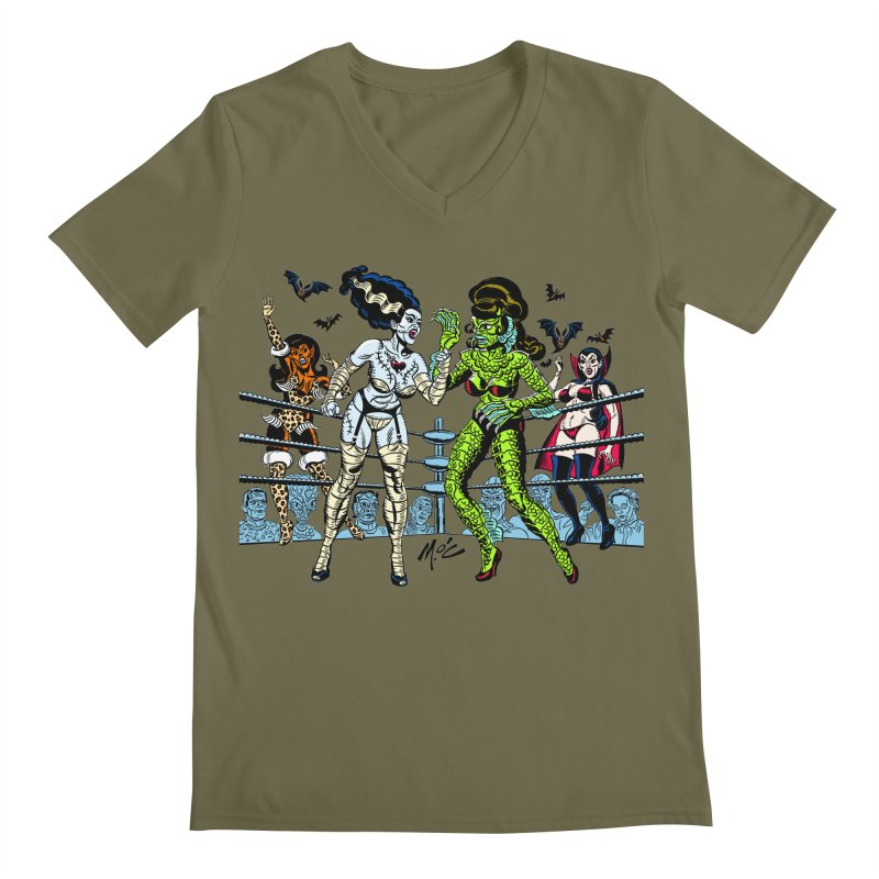 Halloween 2020! Men's V-Neck by Mitch O'Connell