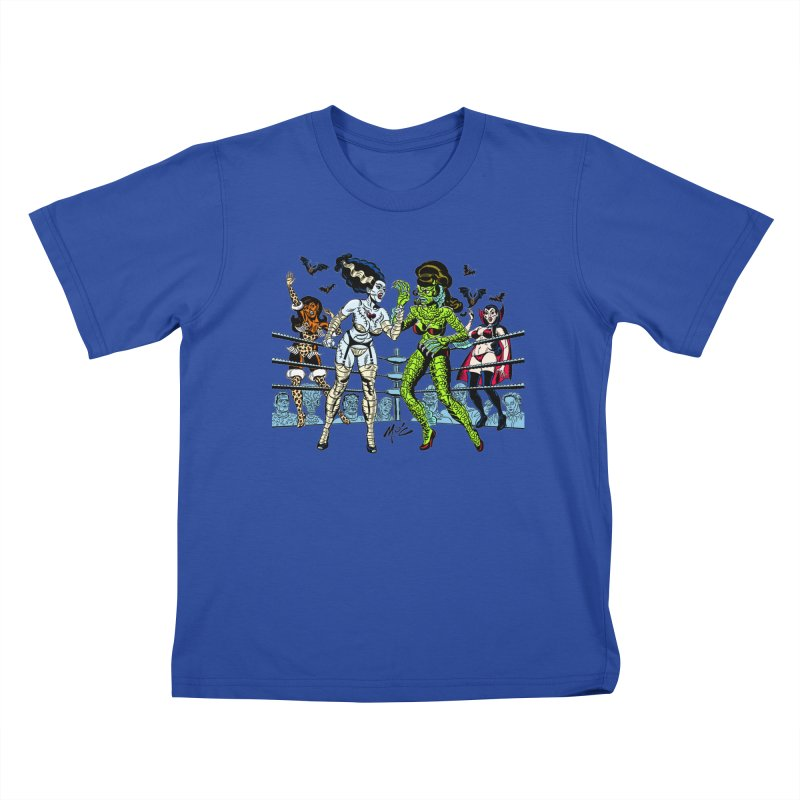 Halloween 2020! Kids T-Shirt by Mitch O'Connell