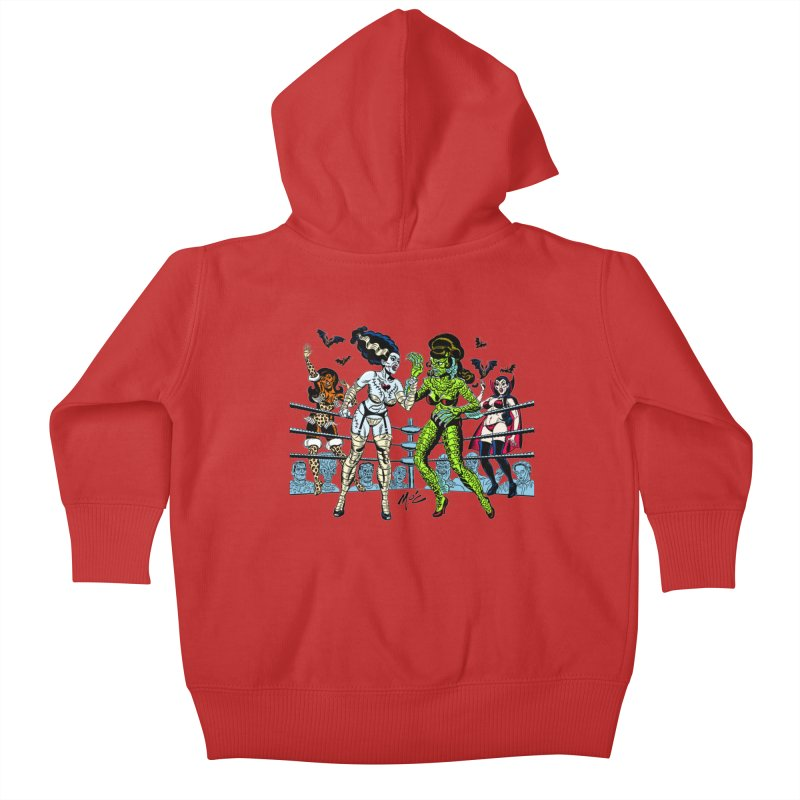 Halloween 2020! Kids Baby Zip-Up Hoody by Mitch O'Connell