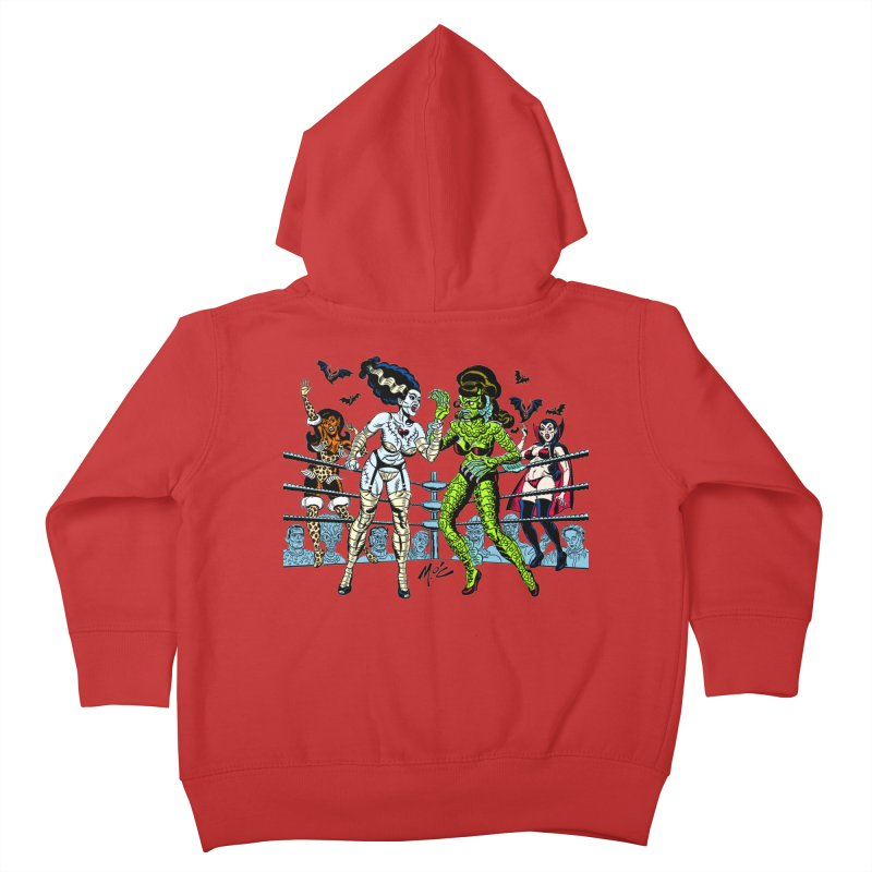 Halloween 2020! Kids Toddler Zip-Up Hoody by Mitch O'Connell