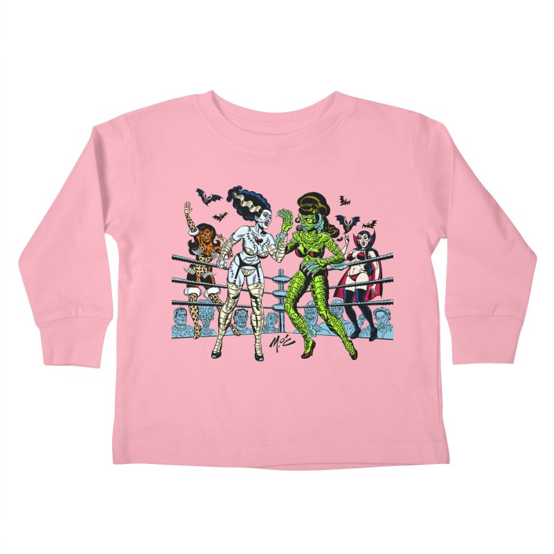 Halloween 2020! Kids Toddler Longsleeve T-Shirt by Mitch O'Connell