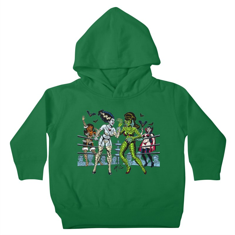 Halloween 2020! Kids Toddler Pullover Hoody by Mitch O'Connell