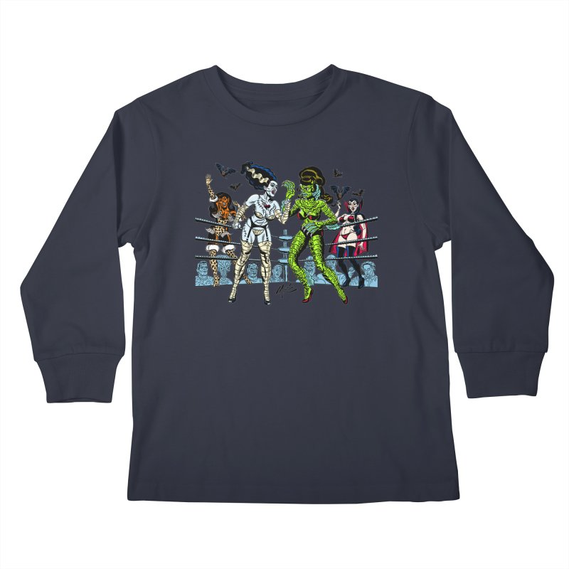 Halloween 2020! Kids Longsleeve T-Shirt by Mitch O'Connell