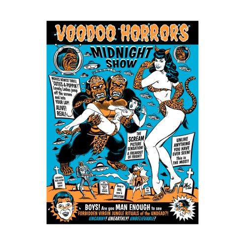 Design for Voodoo Spookshow!