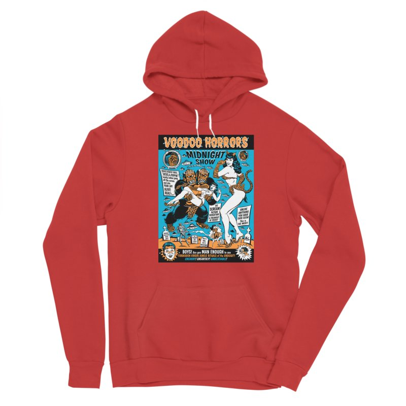 Voodoo Spookshow! Men's Pullover Hoody by Mitch O'Connell