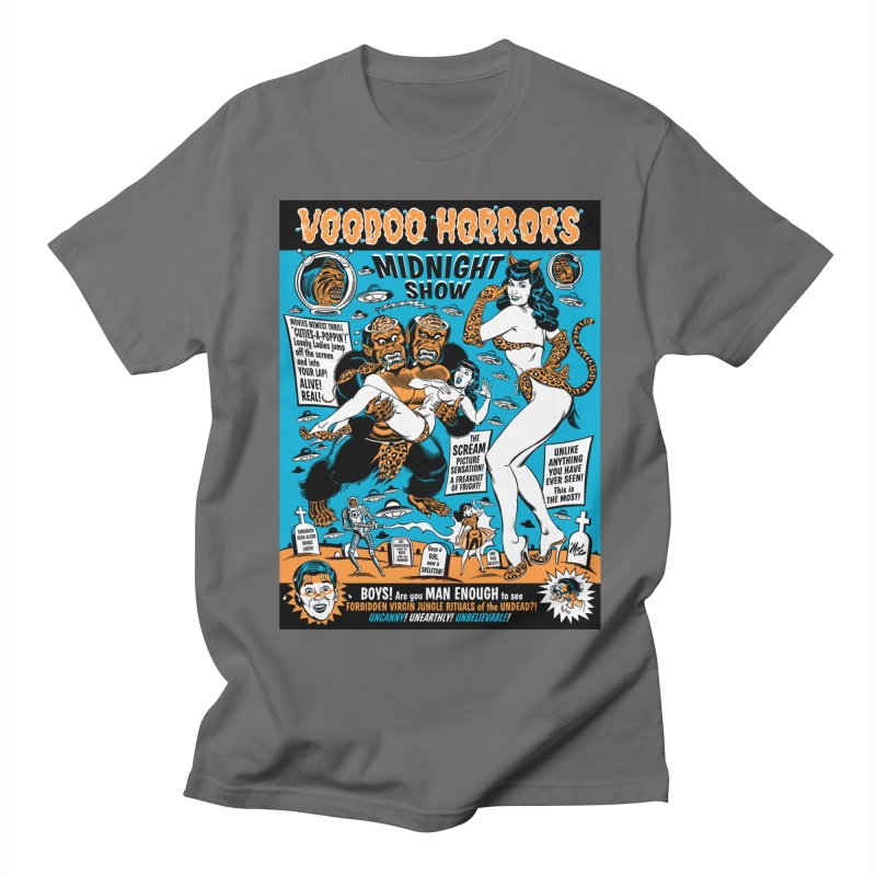 Voodoo Spookshow! Men's T-Shirt by Mitch O'Connell