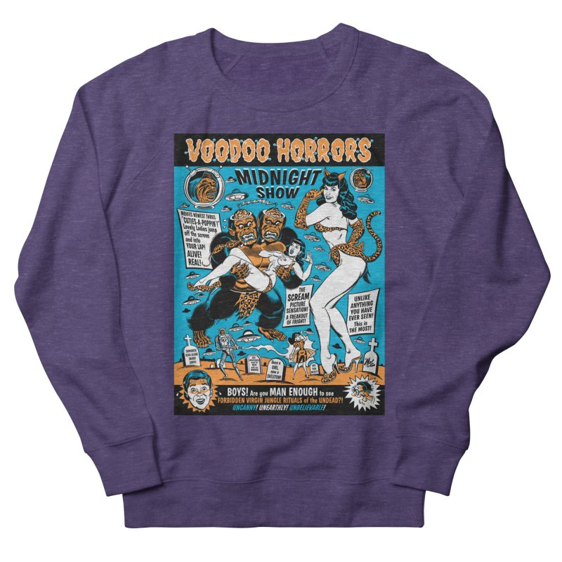 Voodoo Spookshow! Men's Sweatshirt by Mitch O'Connell