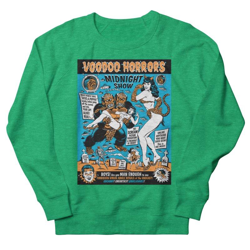 Voodoo Spookshow! Men's Sweatshirt by Mitch O'Connell