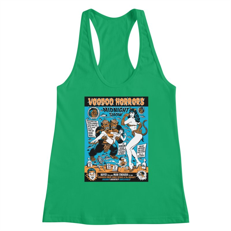 Voodoo Spookshow! Women's Tank by Mitch O'Connell