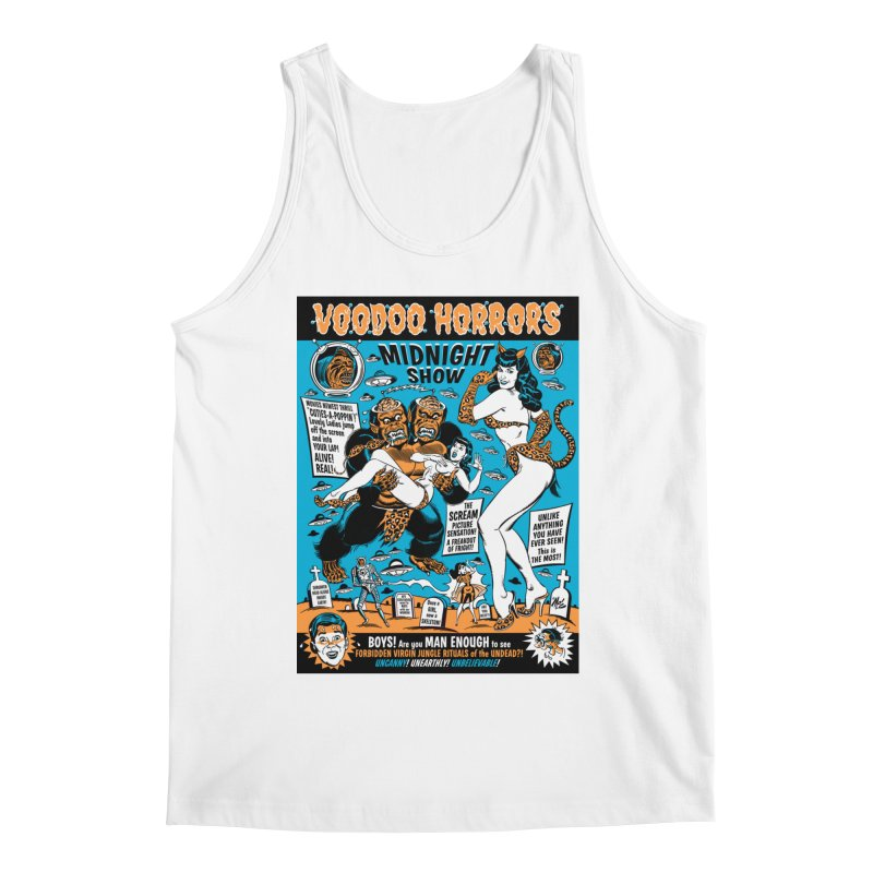 Voodoo Spookshow! Men's Tank by Mitch O'Connell