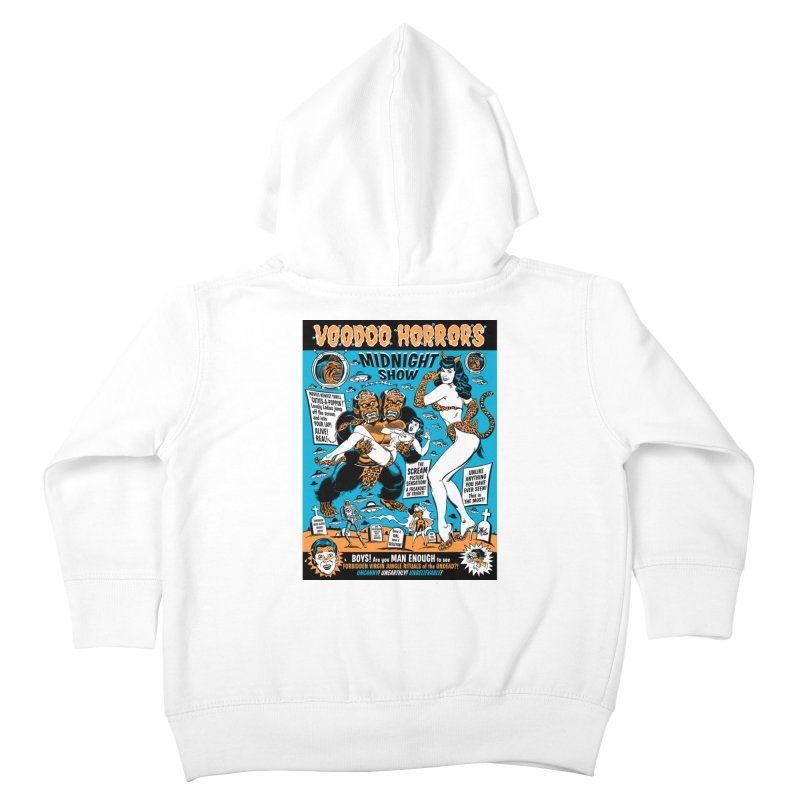 Voodoo Spookshow! Kids Toddler Zip-Up Hoody by Mitch O'Connell