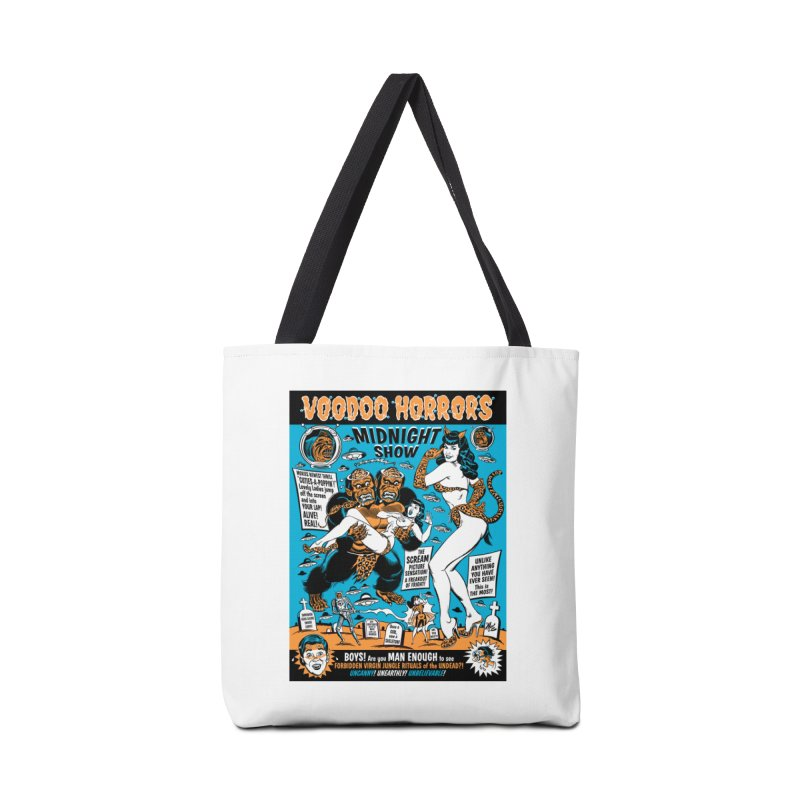 Voodoo Spookshow! Accessories Bag by Mitch O'Connell