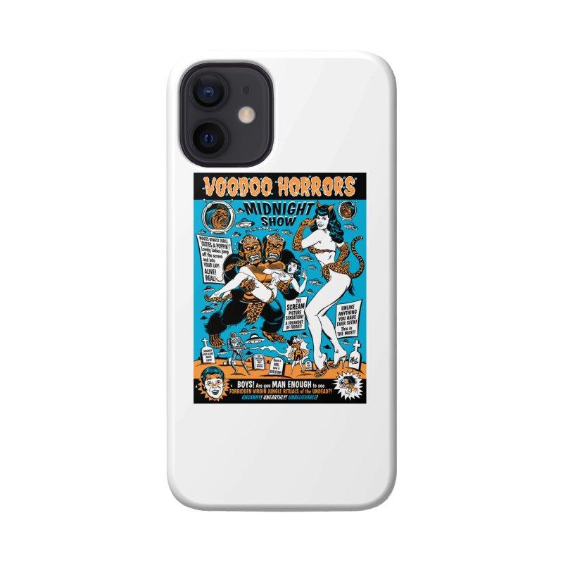 Voodoo Spookshow! Accessories Phone Case by Mitch O'Connell