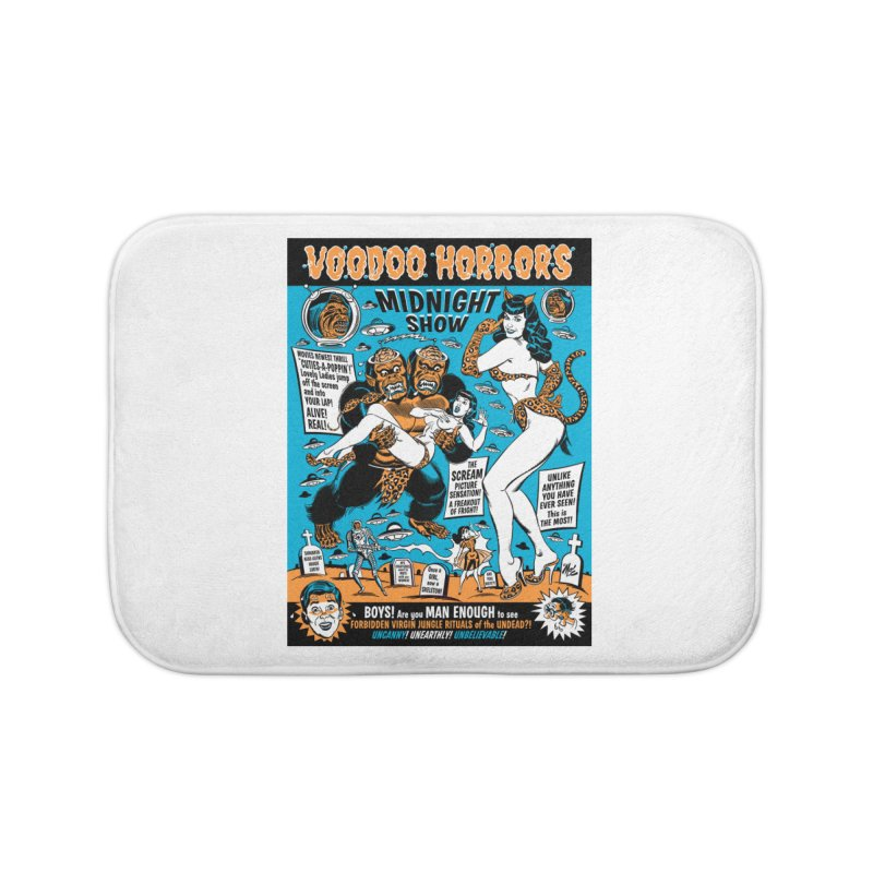 Voodoo Spookshow! Home Bath Mat by Mitch O'Connell