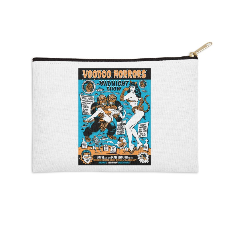 Voodoo Spookshow! Accessories Zip Pouch by Mitch O'Connell