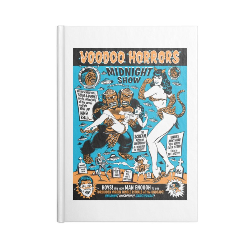Voodoo Spookshow! Accessories Notebook by Mitch O'Connell