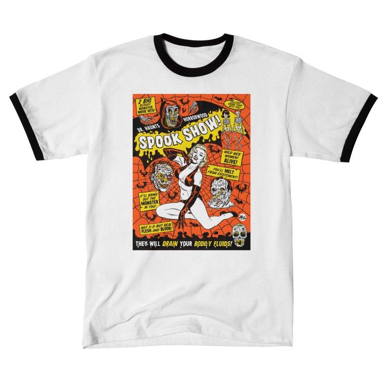 Dr. Haunt's Spookshow! Men's T-Shirt by Mitch O'Connell