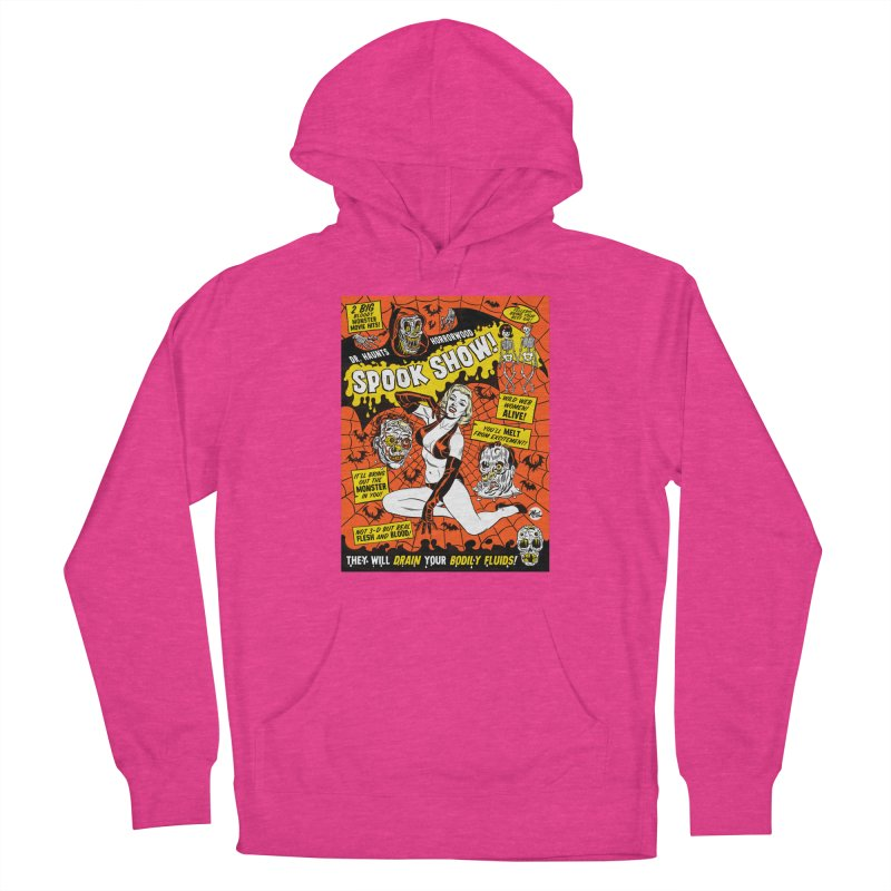 Dr. Haunt's Spookshow! Men's Pullover Hoody by Mitch O'Connell