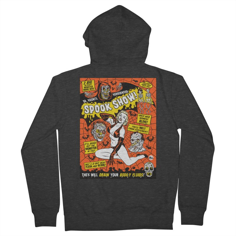 Dr. Haunt's Spookshow! Men's Zip-Up Hoody by Mitch O'Connell