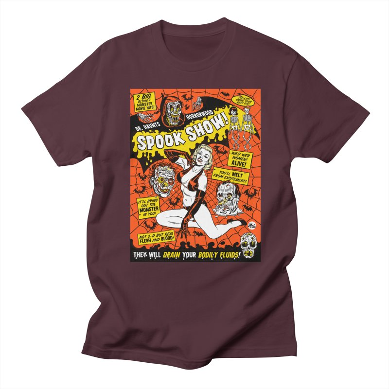Dr. Haunt's Spookshow! Men's T-Shirt by Mitch O'Connell