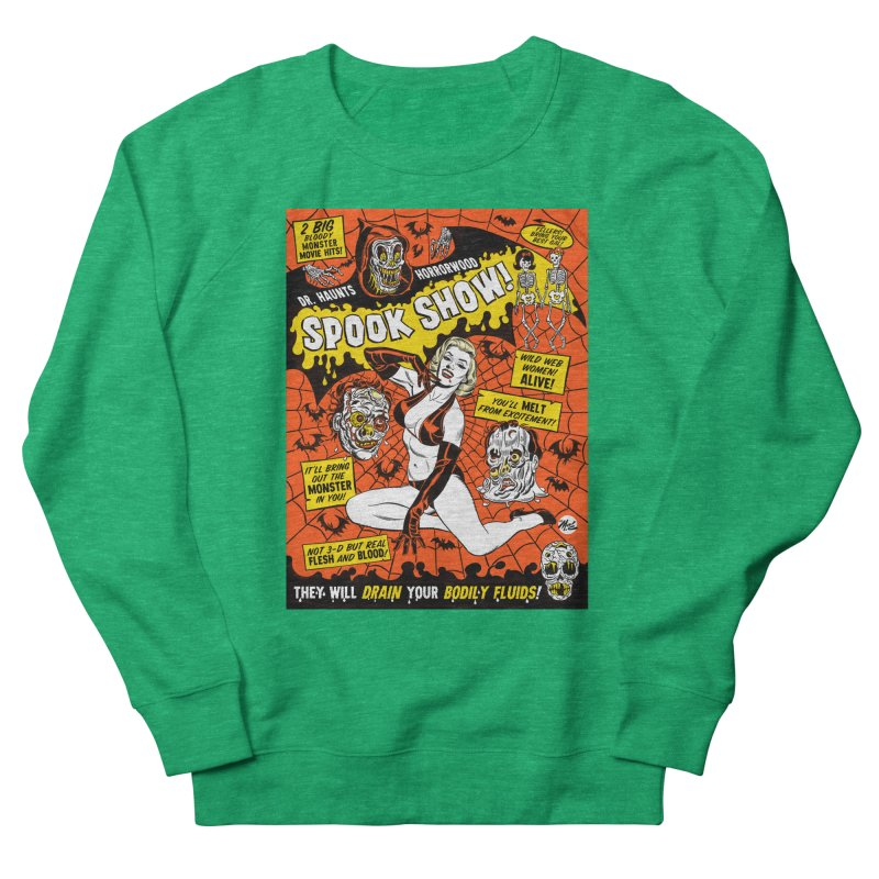 Dr. Haunt's Spookshow! Women's Sweatshirt by Mitch O'Connell