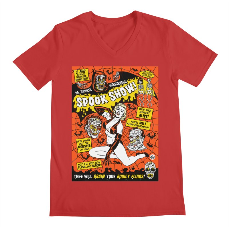 Dr. Haunt's Spookshow! Men's V-Neck by Mitch O'Connell
