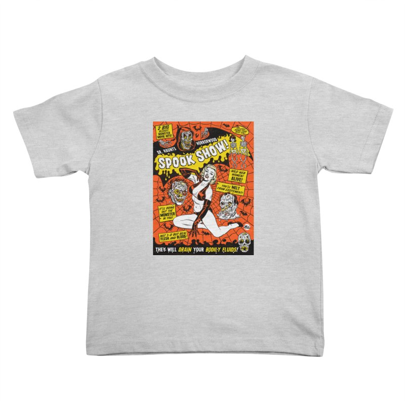 Dr. Haunt's Spookshow! Kids Toddler T-Shirt by Mitch O'Connell