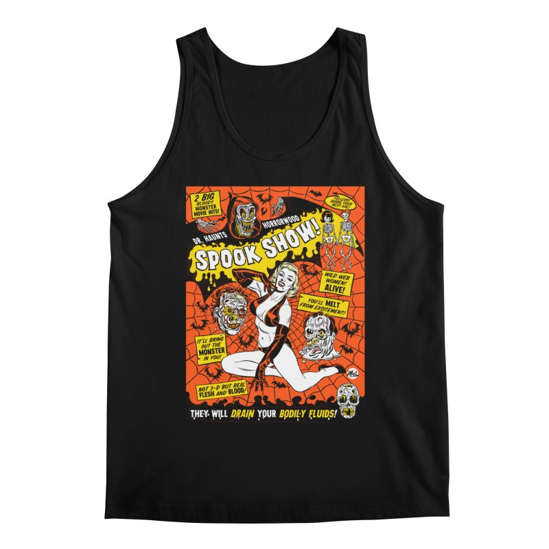 Dr. Haunt's Spookshow! Men's Tank by Mitch O'Connell
