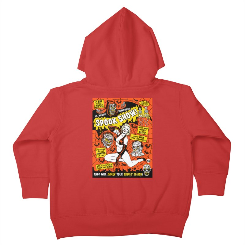 Dr. Haunt's Spookshow! Kids Toddler Zip-Up Hoody by Mitch O'Connell