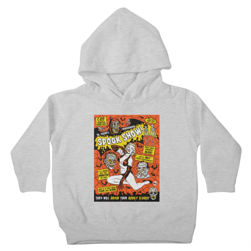 Dr. Haunt's Spookshow! Kids Toddler Pullover Hoody by Mitch O'Connell