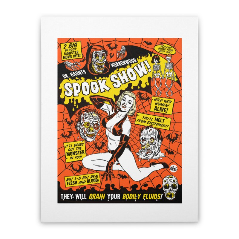 Dr. Haunt's Spookshow! Home Stretched Canvas by Mitch O'Connell