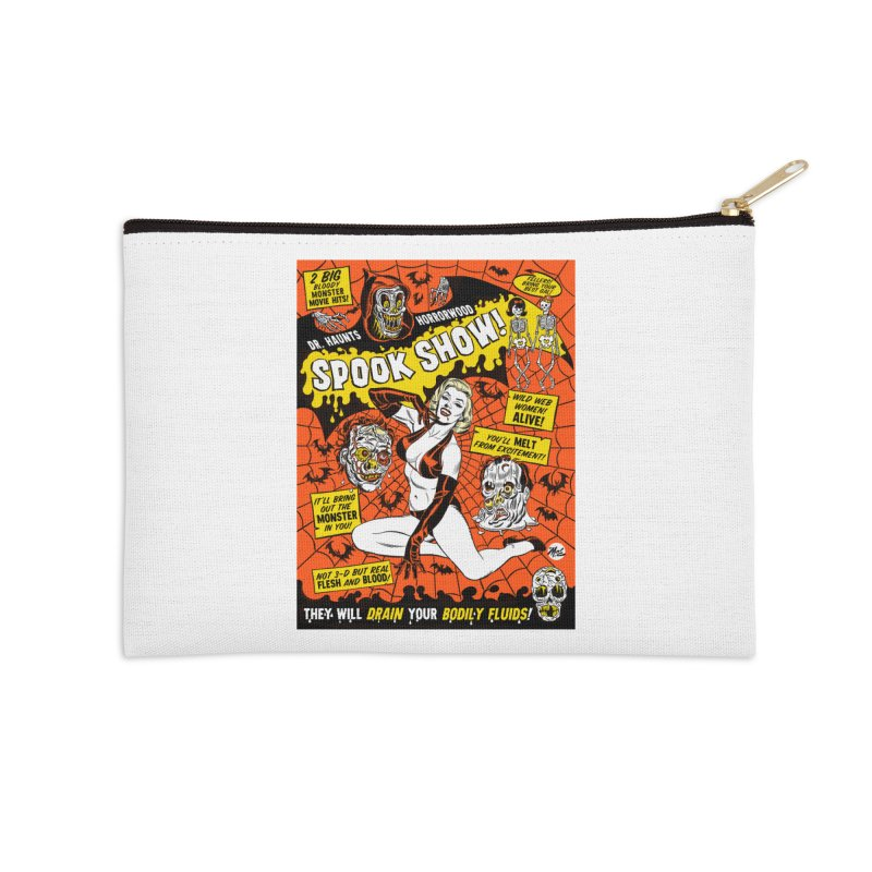 Dr. Haunt's Spookshow! Accessories Zip Pouch by Mitch O'Connell