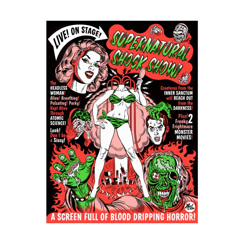 Supernatural Spookshow! Women's T-Shirt by Mitch O'Connell