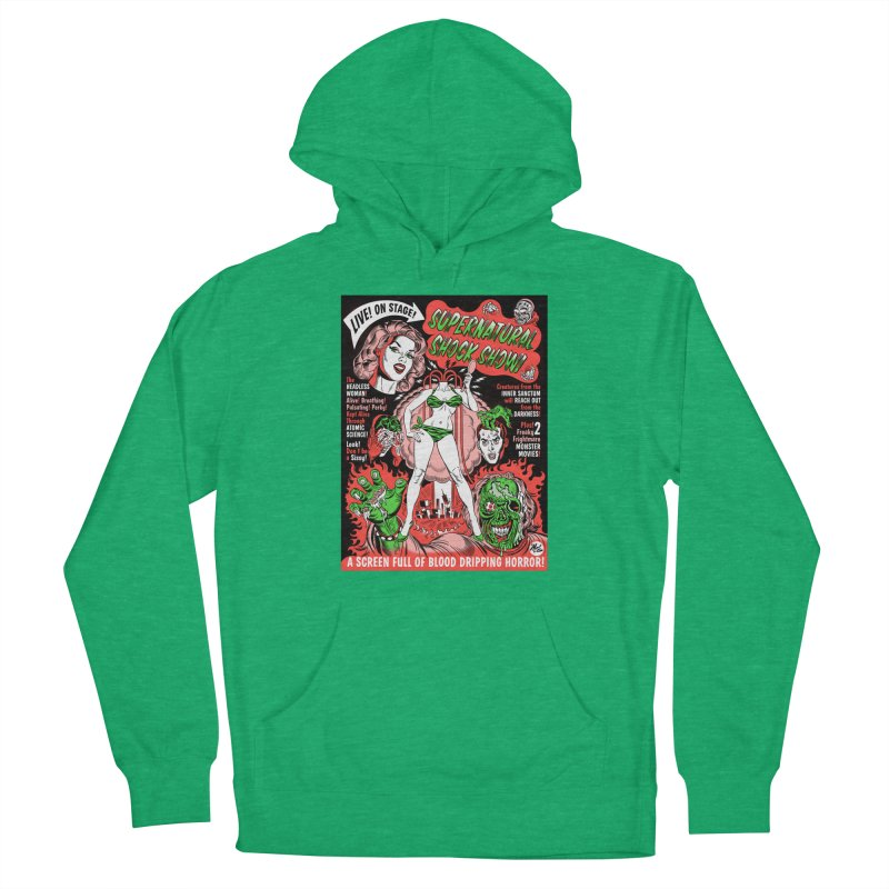 Supernatural Spookshow! Men's Pullover Hoody by Mitch O'Connell