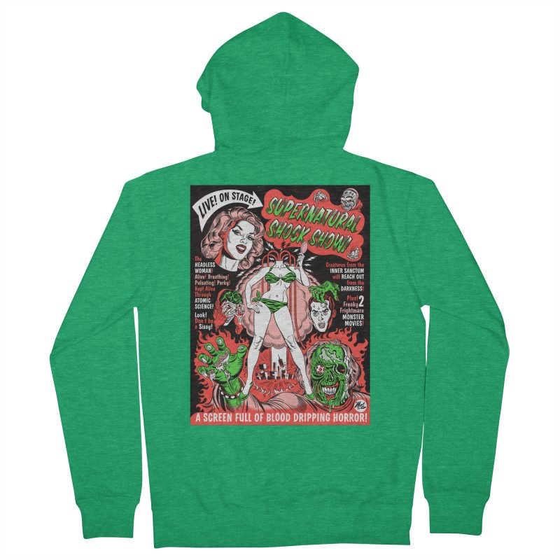 Supernatural Spookshow! Men's Zip-Up Hoody by Mitch O'Connell