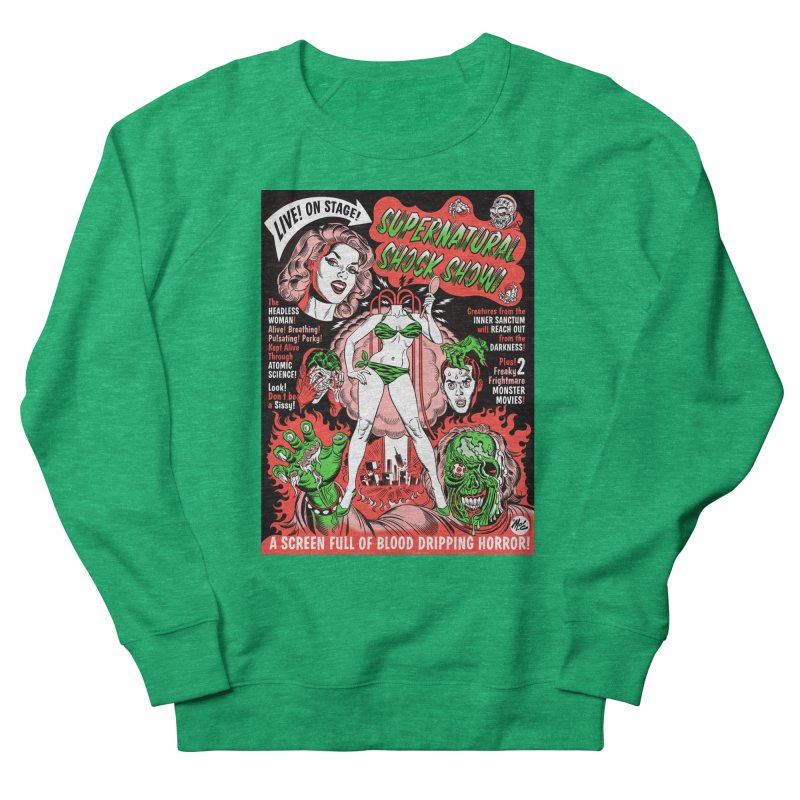 Supernatural Spookshow! Men's Sweatshirt by Mitch O'Connell