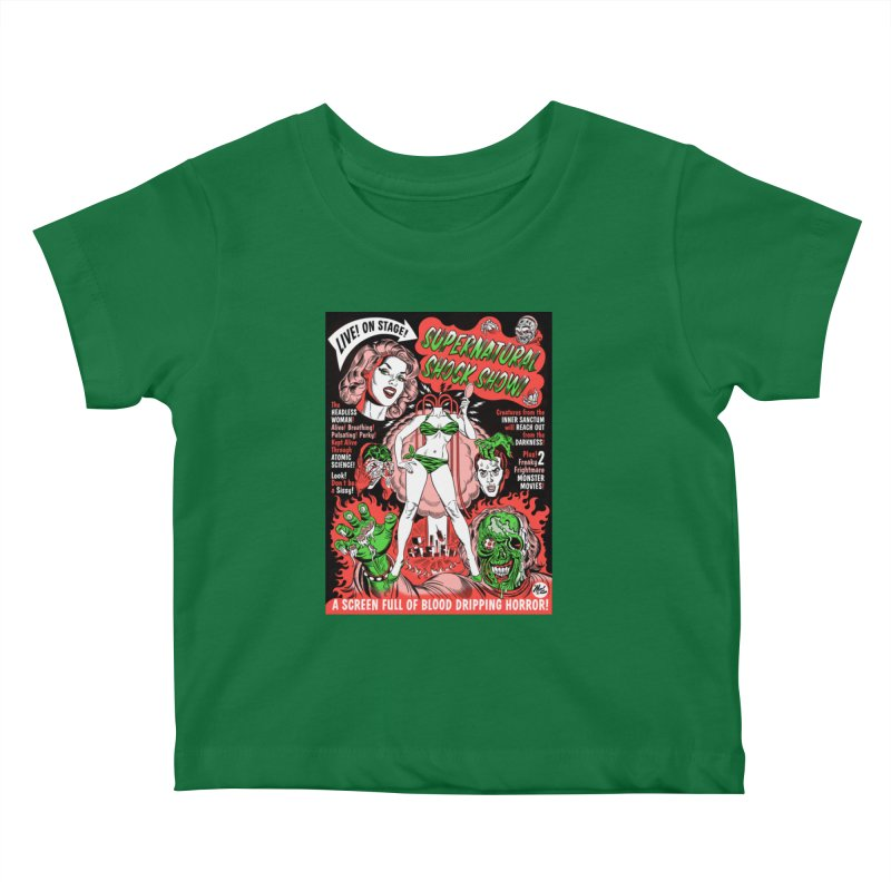 Supernatural Spookshow! Kids Baby T-Shirt by Mitch O'Connell