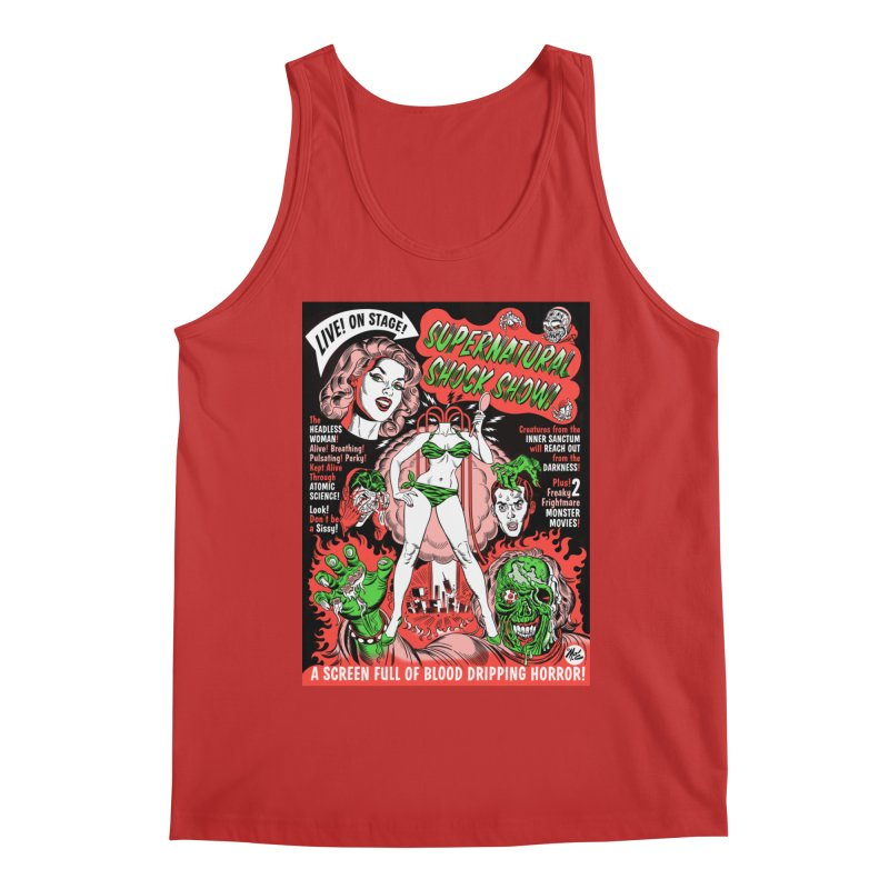 Supernatural Spookshow! Men's Tank by Mitch O'Connell
