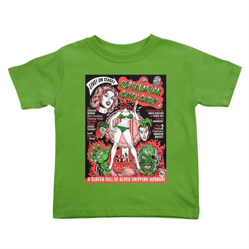 Supernatural Spookshow! Kids Toddler T-Shirt by Mitch O'Connell