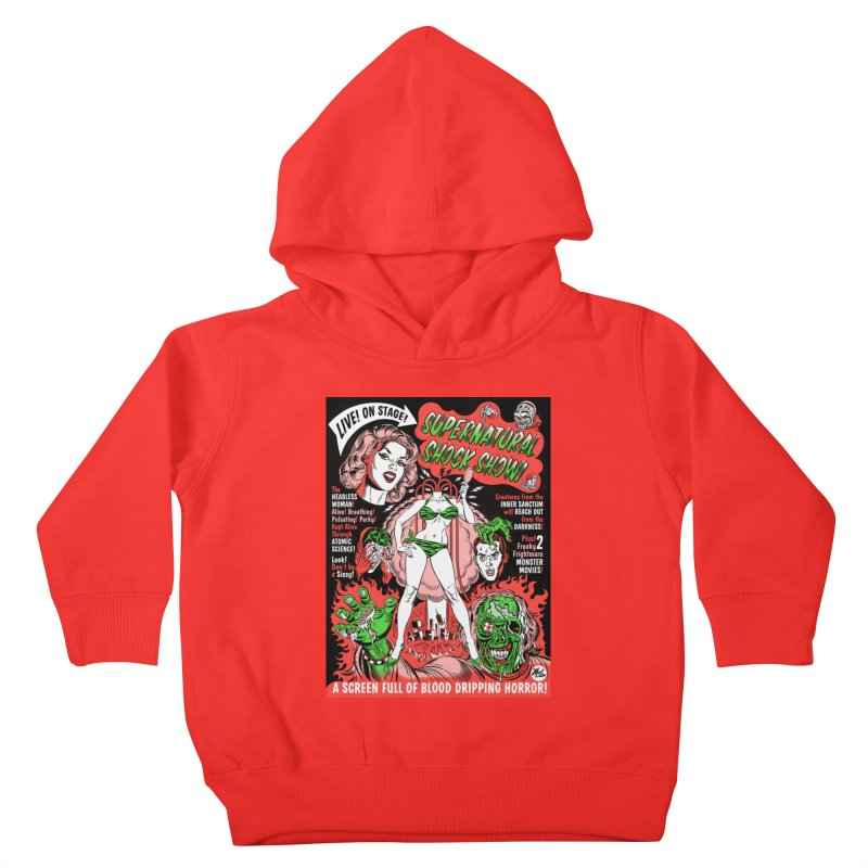 Supernatural Spookshow! Kids Toddler Pullover Hoody by Mitch O'Connell