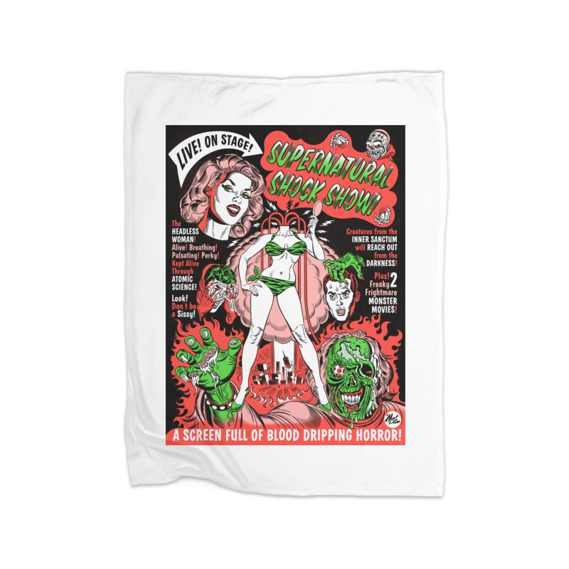 Supernatural Spookshow! Home Blanket by Mitch O'Connell