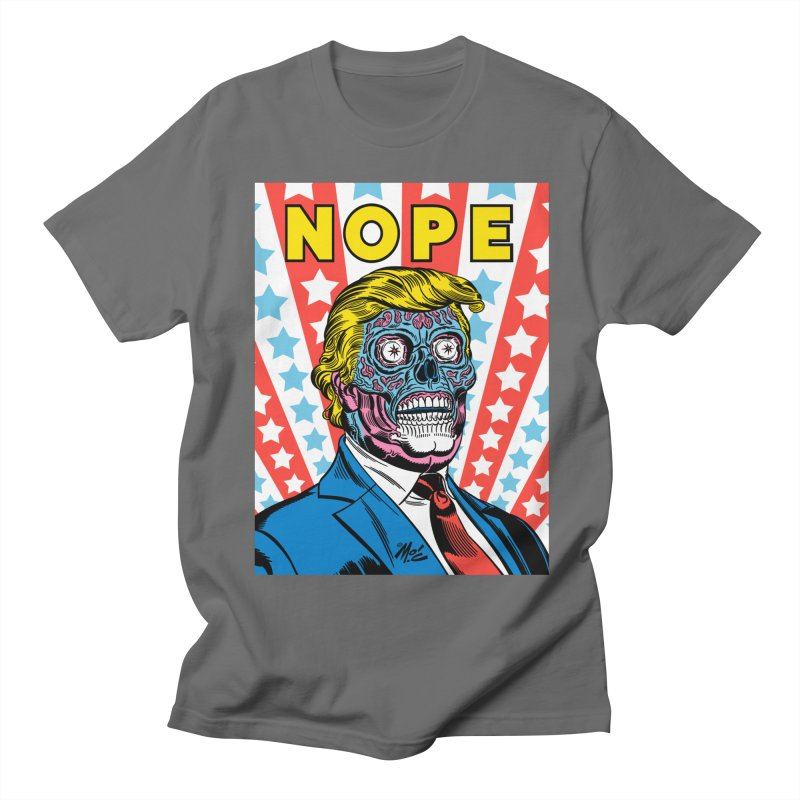 NOPE Men's T-Shirt by Mitch O'Connell