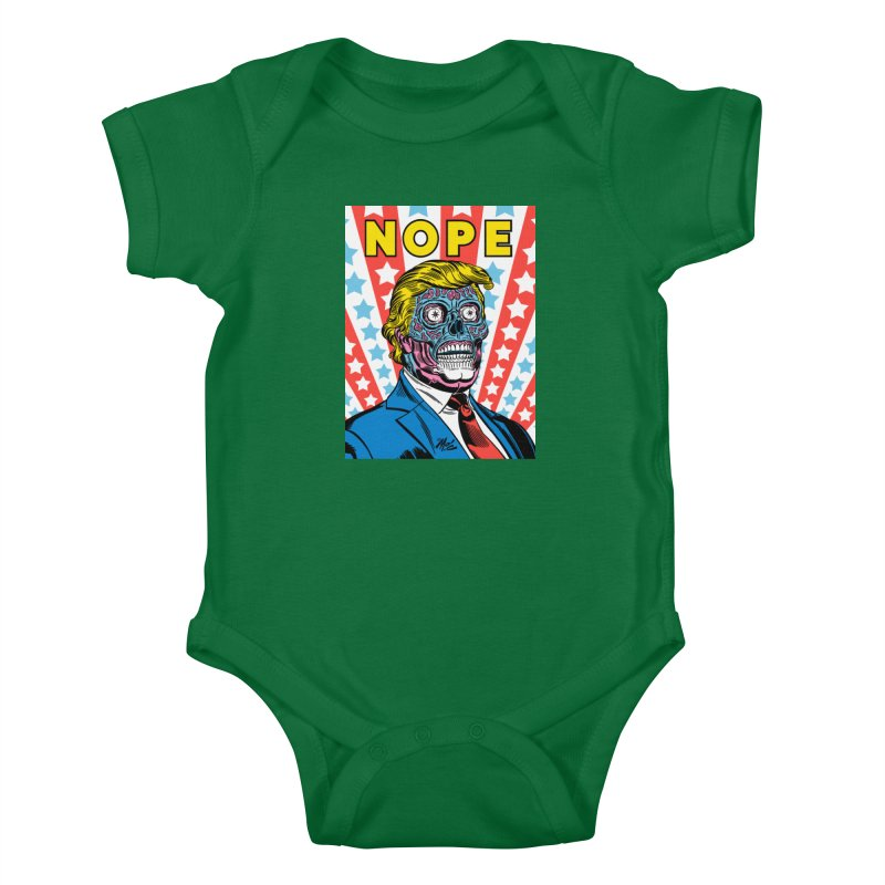 NOPE Kids Baby Bodysuit by Mitch O'Connell