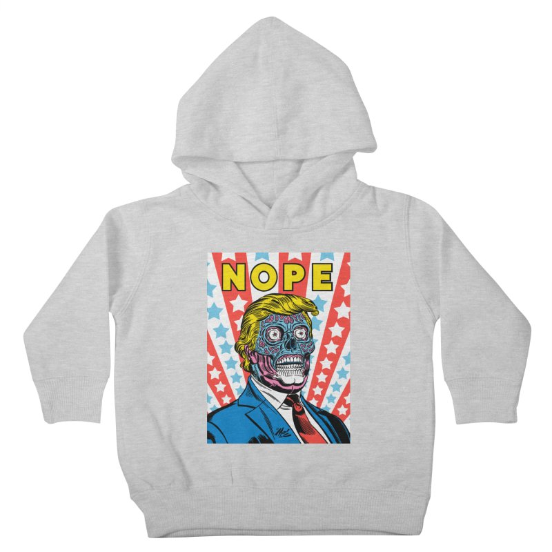 NOPE Kids Toddler Pullover Hoody by Mitch O'Connell